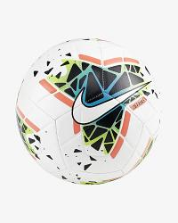 Nike Strike White/Blue/Lime Soccer Ball