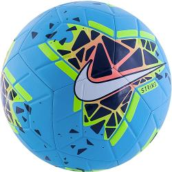 Nike Strike Blue/Orange/Lime Soccer Ball [Size: 5]