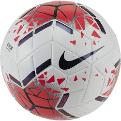 Nike Strike White/Crimson/Black Soccer Ball