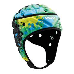 Steeden Super Lite Headgear Paintball Lime/Yellow