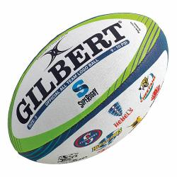 Gilbert Super Rugby All Team Logo Union Ball