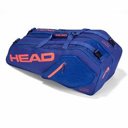 Head Core 6R Combi Blue/Flame Tennis Bag