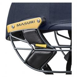 Masuri Elite OS Steel Grill Navy Cricket Helmet
