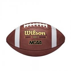Wilson NCAA Leather Official Grid Iron Game Ball