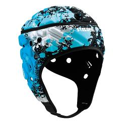 Steeden Super Lite Headgear Paintball Blue/Silver [Size: Junior 52cm]