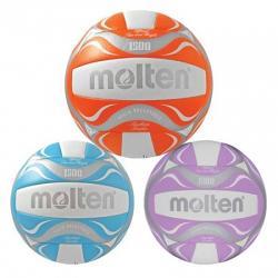 Molten Beach Volleyball [Size:White/Orange]