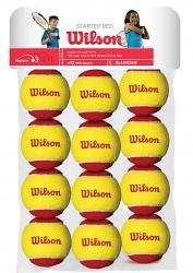 Wilson Starter Red 12 Tennis Ball Pack