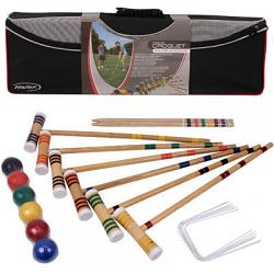 Halex Premier 6 Player Croquet Set 28""