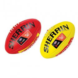 Sherrin Womans Replica Leather Aussie Rules Ball