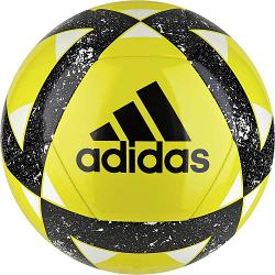Adidas Starlancer V Soccer Ball [Colour: Yellow/Black] [Size: 3]