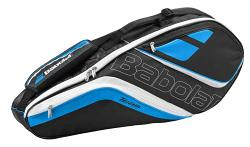 Babolat Team Line 3 Racquet Tennis Bag [Colour: Black/Blue]