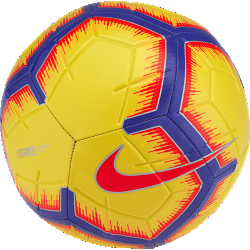 Nike Strike Yellow Soccer Ball
