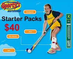 Kookaburra Hook in 2 Hockey Pack