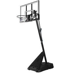 Spalding NBA Hercules 54 Acrylic Portable Basketball System