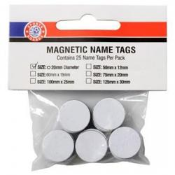 Sports Boards Magnet 20mm Diameter 25pk