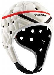 Steeden Super Lite Headgear [Colour: White] [Size: Junior 52cm]