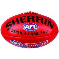 Sherrin Replica Game Ball Aussie Rules Football
