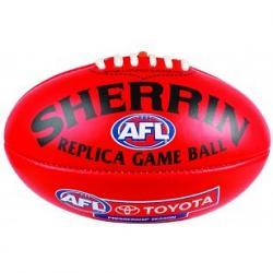 Sherrin Mini Replica Game Ball Aussie Rules Football