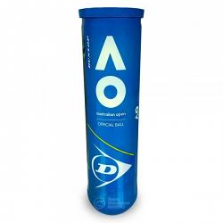 Dunlop Australian Open Tennis 4 Ball Can