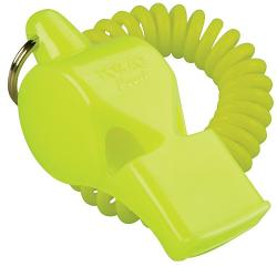 Fox 40 Pearl 2 Chamber Whistle with Flex Wrist Coil