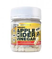 Body Science BSc Apple Cider Vinegar Capsules Organic