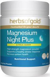 Herbs of Gold Magnesium Night Plus