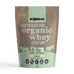 Proganics Organic Whey Grass Fed
