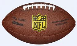 Wilson NFL Duke Replica Composite Grid Iron Ball