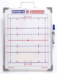Whiteboards Rugby Union Magnetic Sports Board