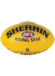 Sherrin Rising Star Synthetic Aussie Rules Football