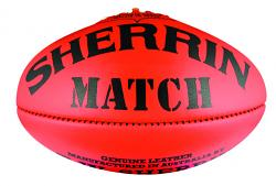 Sherrin Match Aussie Rules Football