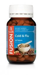 Fusion Health Cold Flu Cough Tablets