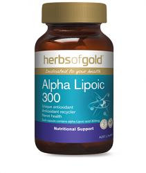 Herbs of Gold Alpha Lipoic 300
