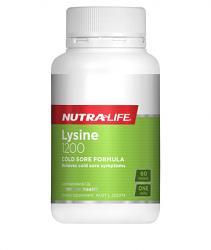 Nutra-Life Lysine 1200