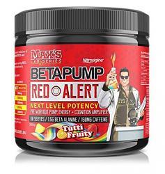Maxs Lab Series BetaPump Red Alert